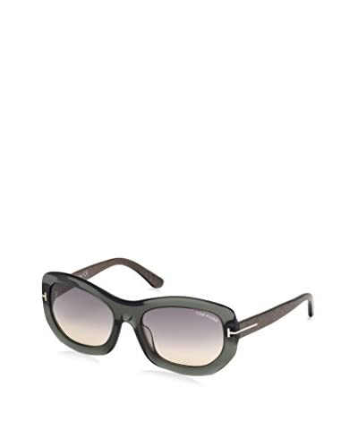 Tom Ford Women's FT0382 Sunglasses, Crystal Grey
