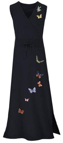 Butterfly Mock Wrap Dress