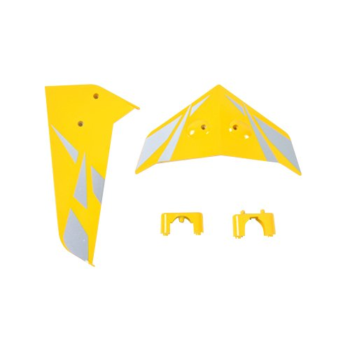 Syma Tail Fin Set for Syma S033G Heli, Yellow - 1