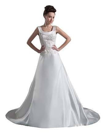 Herafa Wedding Dress Elegant NOw35685 Amazon Fashion