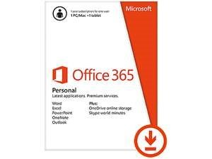 QQ2-00021 Microsoft Office 365 Personal Is The Best Office For You, At Home Or On The Go. Get A 1-ye