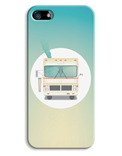 Breaking Bad Heisenberg Drug RV Camper Cartoon iPhone 5 5S Hard Case Cover