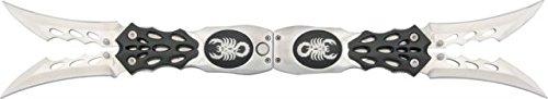 BladesUSA C-723Sb Fantasy Folding Knife 8.5-Inch Closed. 3.5-Inch Blades