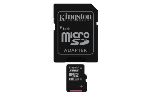 Kingston Digital 32 GB microSDHC Flash Memory