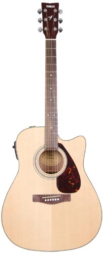 Yamaha FX370C Guitare Électro-Acoustique à Pan Coupé - Bois Naturel