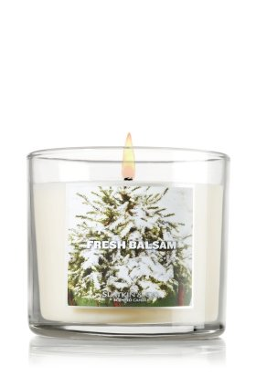 Slatkin & Co. 4 Oz. Small Candle Fresh Balsam