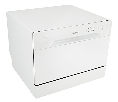 Countertop Dishwasher Japanese : New Model) Danby DDW621WDB Countertop Dishwasher, White - Cook. Clean ...