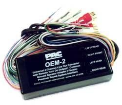 Pac Aoem-Nis2 System Interface Kit To Add Or Replace An Amplifier In All 1995-2002 Nissan Vehicles With Bose Audio System