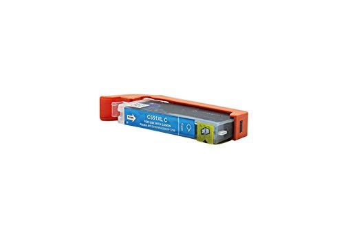 Kompatibel für Canon Pixma IP 7250 Tinte Cyan - CLI-551C XL / 6444B001 - Inhalt: 12 ml