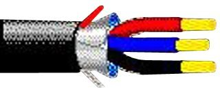 BELDEN - 1121A 010500 - SHLD MULTICOND CABLE, 3COND, 18AWG, 500FT, 600V