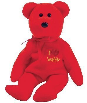 TY Beanie Baby - SEATTLE the Bear (I love Seattle - Show Exclusive)