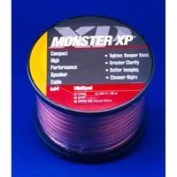 Monster 30Ft. Xp Clear Jacket Compact Speaker Cable Mkii (Mini Spool)