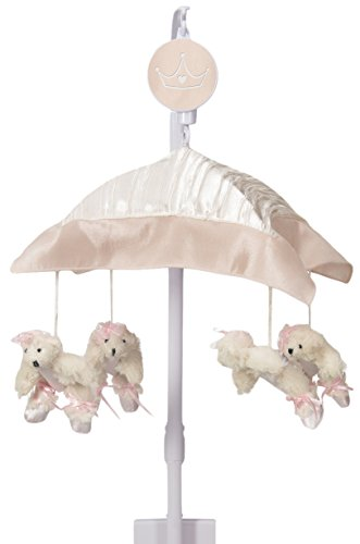 Sweet Potato Lil' Princess Musical Mobile, Pink/Cream/Ivory