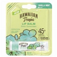 Hawaiian Tropic Moisturizing Lip Balm Sunscreen, SPF 45 .14 oz (4 g)