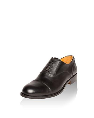BRITISH PASSPORT Zapatos Oxford Wing Cap Negro