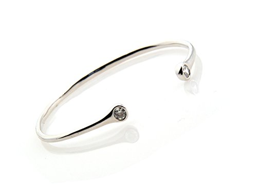 elegant-bangle-with-two-crystal-heads-flexible-gold-or-white-gold-plated-uk-white-gold