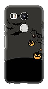 Generic Hard Printed Back Cover for Lg Nexus 5x (Multicolor)