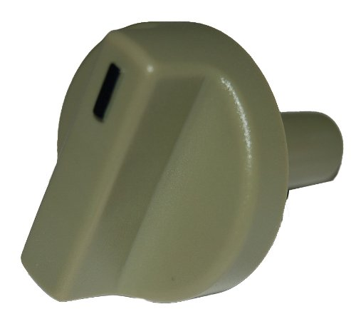 Music City Metals 00120 Plastic Control Knob Replacement For Select Weber Gas Grill Models