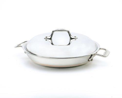 All Clad Copper Core Petite Braiser Pan Cornelia D Peebles