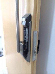 Samsung Digital Fingerprint Door Lock Lance Goodie