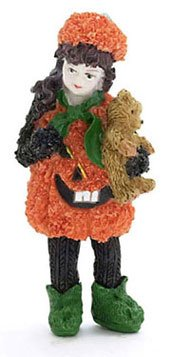 Dollhouse Pumpkin Girl/pumpkin Dress - 1