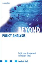 Beyond Policy Analysis : Public Issue Management in Turbulent Times