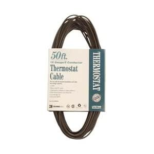 Coleman Cable 09634 CL2 Bulk Thermostat Cable, 18-Gauge 5-Conductor 50-Feet