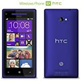 HTC Windows 8X 16GB T-Mobile Smartphone Cell Phone Blue