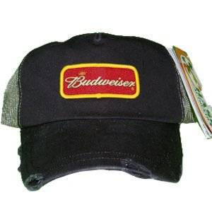 Amazon.com : Budweiser Dale Earnhardt Jr #8 Ripped Style Trucker Cap