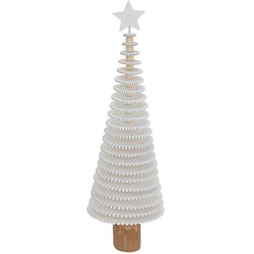 Albero di Natale in legno abete bianco 40 cm art.