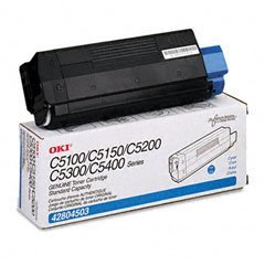 Okidata CYAN TONER CARTRIDGE ( 42804503 )