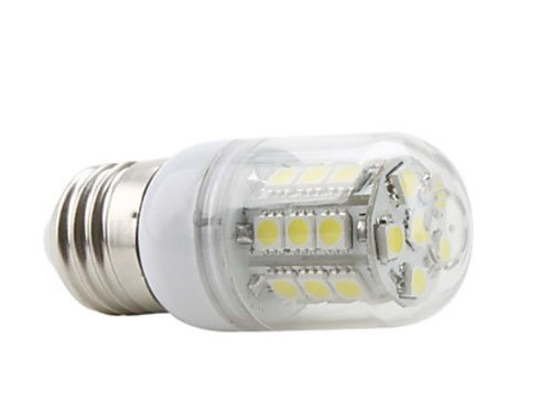Liroyal Led Corn Bulb 110V E27 27X5050 Smd 3.5W 300Lm 2500-3500K Natural White Light