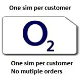 O2 UK Pay As You Go sim card, new and sealed, can be used with any O2 tariff