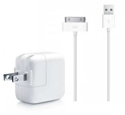 Learn More About 10' FT USB Sync Cable Power Cord + 10W Wall Charger for Apple iPad.1,2,3 iPhone (Wh...