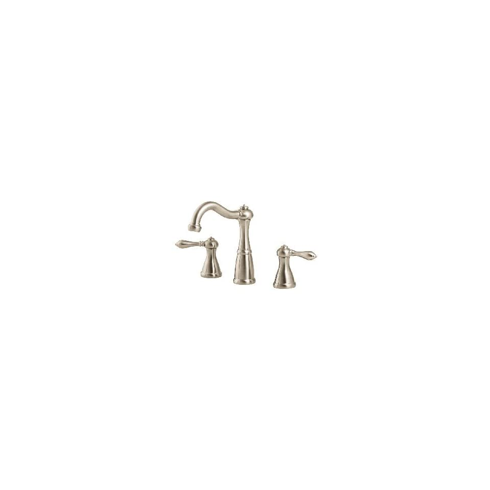 Price Pfister GT49 M0BK Price Pfister Marielle Widespread Bathroom Sink Faucet Brushed Nickel