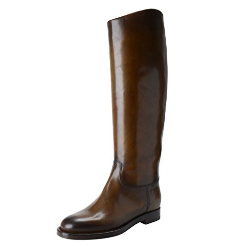 Gucci Womens Leather Riding Boots Shoes
