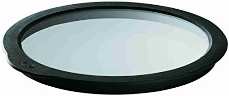 Rösle 15732 Frischhaltedeckel aus Glas, 24 cm Durchmesser