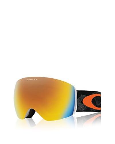 OAKLEY Occhiali da Neve Flight Deck Mod. 7050 Sun Camo Arancione