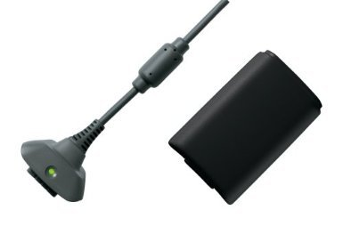 Afay for Xbox 360 Black Play and Charge Kit