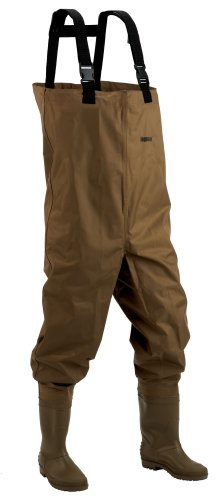 Hodgman  Mackenzie Nylon/PVC Chest Wader With Cleated Soles, 9