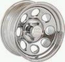 Rock Crawler Series 99 Chrome Monster Mod Wheel Size 15x7 Bolt Pattern 5x4.5 Back Space 4.5 in.