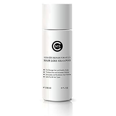 CSCS Hair Loss Shampoo - Keratin Repair Formula - Stimulates Hair Follicles - Stronger, Thicker Hair - Safe for All Hair Types