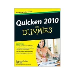 Quicken 2010 for Dummies PDF eBook