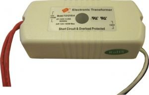 Pack Of One (1), 20-105W 120V To 12V Dimmable Transformer Ul Approved