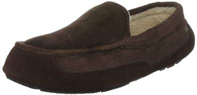 Rockport Men's Courduroy Moc Slipper Brown Slipper I31634 7 UK