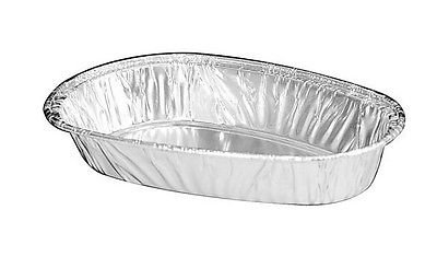 Handi-Foil Small-Mini Aluminum Potato Shell - Baking Tart Tins (pack of 125)