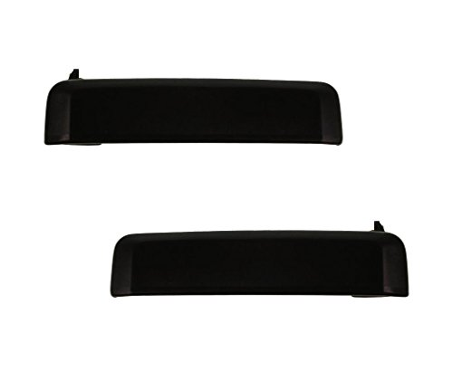 Driver and Passenger Outside Outer Door Handles Replacement for Nissan Pickup Truck SUV 8060701A10 8060601A10 (1993 Nissan D21 Door Handle compare prices)