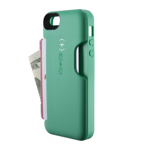 Special Sale Speck Products SmartFlex Card Case for iPhone 5 & 5S - Retail Packaging - Malachite Green