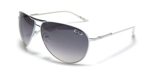 Mens DG Eyewear Metal ® Sunglasses - New 2013 / 2014 Season Mens Metal Collection - Model: DG Rio - Colour: White - Men's Model DG Celebrity Sunglasses (New Season Collection)