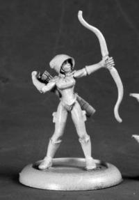 Reaper Miniatures 50215 Silver Marksman Super Heroine